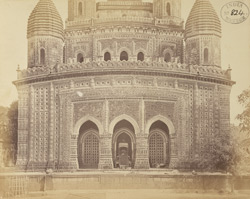 General view of the south face of the Kantaji Temple, Kantanagar